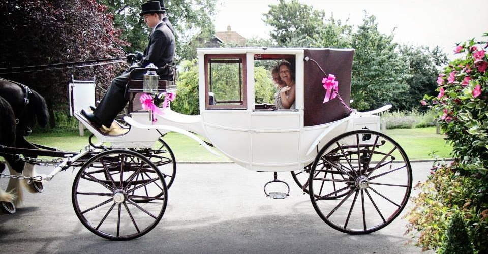 Glass Fronted Landau  This carriage has the benefit of being fully enclosed and fully convertible. - Drayhorse Shires Australia