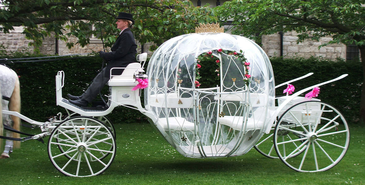 Cinderella-Funeral-Carriage-for-Baby-and-Young-Children