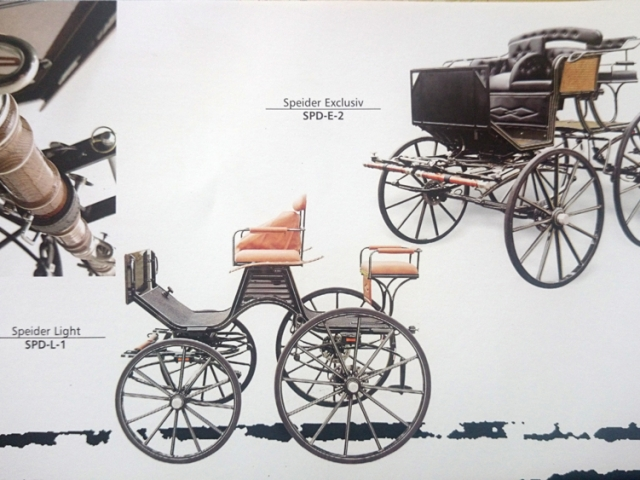 Speider Light Carriage - Drayhorse Shires Australia