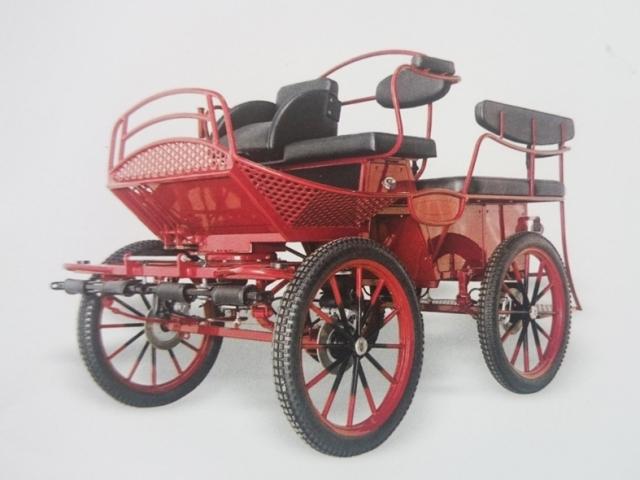 Tenniswagen, Red - Drayhorse Shires Australia