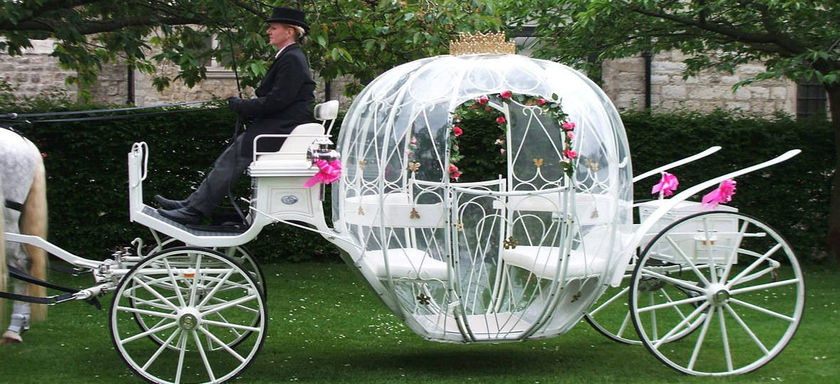 Drayhorse Cinderella Funeral carriage is used for babies and young children's funeral. The family can travel in the carriage with the their loved ones. The drapes and horses feather plumes can be in pink, white, baby blue, purple and black. These can be used on any of the hearses.